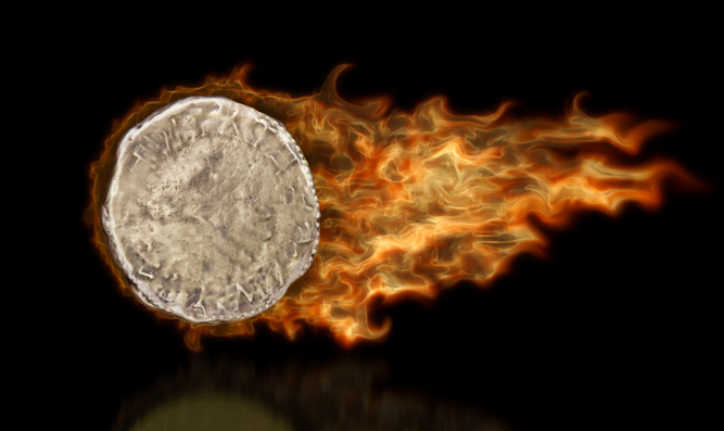 The Fiery Half-Shekel Offering - transforms the giver